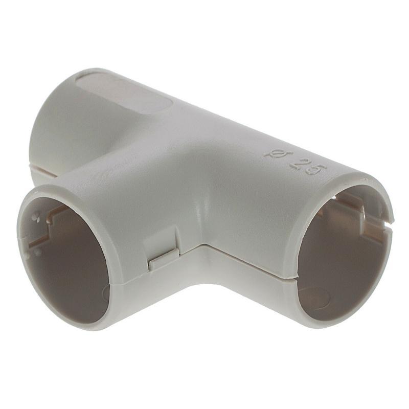 Угол для труб Т-образный сборный Экопласт D25 мм, 1 шт.