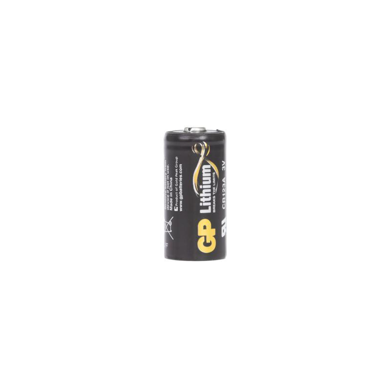 Батарейка литиевая GP CR123A, 1 шт.