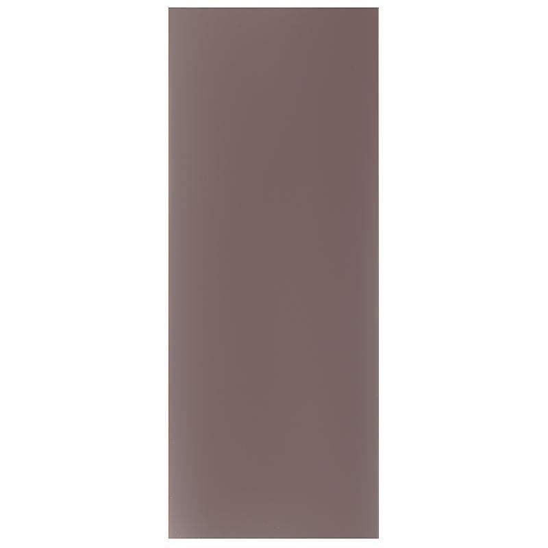Фальшпанель для шкафа «Леда серая», 37х92 см