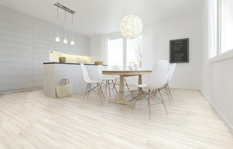 Керамогранит «Ламинат» 15x60 см 1.26 м² цвет кремовый