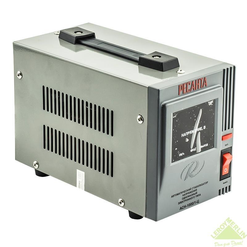 Стабилизатор напряжения Ресанта 1 кВт
