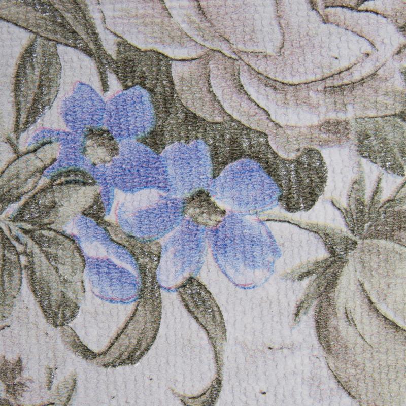 Обои бумажные дуплекс Прага 0.53х10 м цвет голубой 421-04