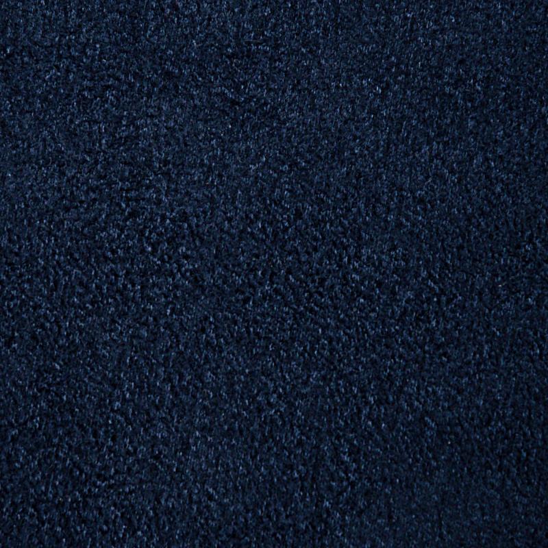 Штора на ленте со скрытыми петлями «Нью Манчестер», 200х280 см, цвет чёрный, синий