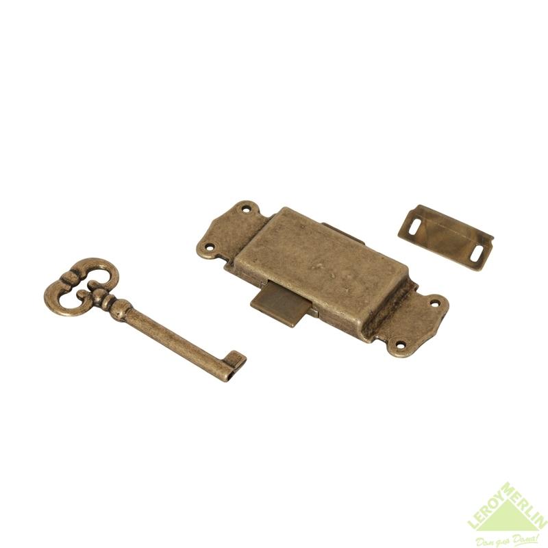 Замок НР мебельный 5600 античная бронза 5600S01.99