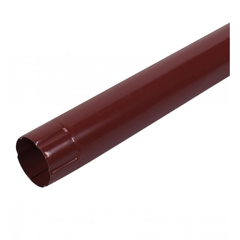 Соединитель трубы 1 м цвет красный
