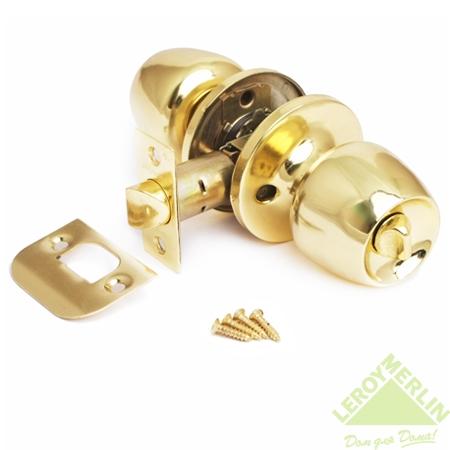 Ручка-защёлка круглая Avers 0598-03, цвет золото