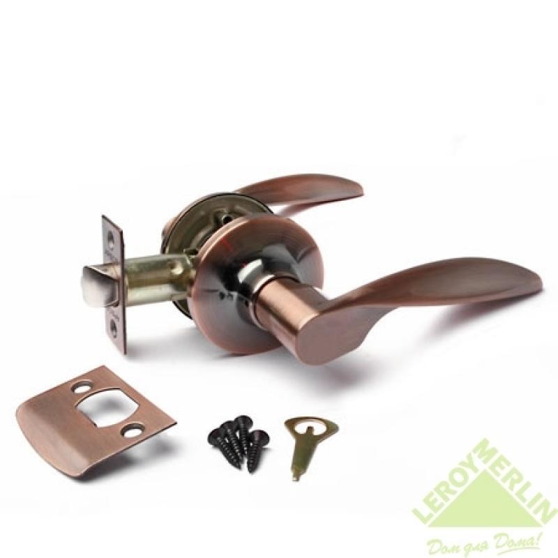 Ручка-защёлка межкомнатная Apecs 8020-05-AС (медь)