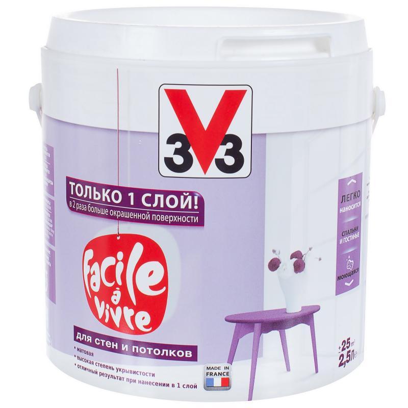 Краска V33 Facile a vivre 2.5 л