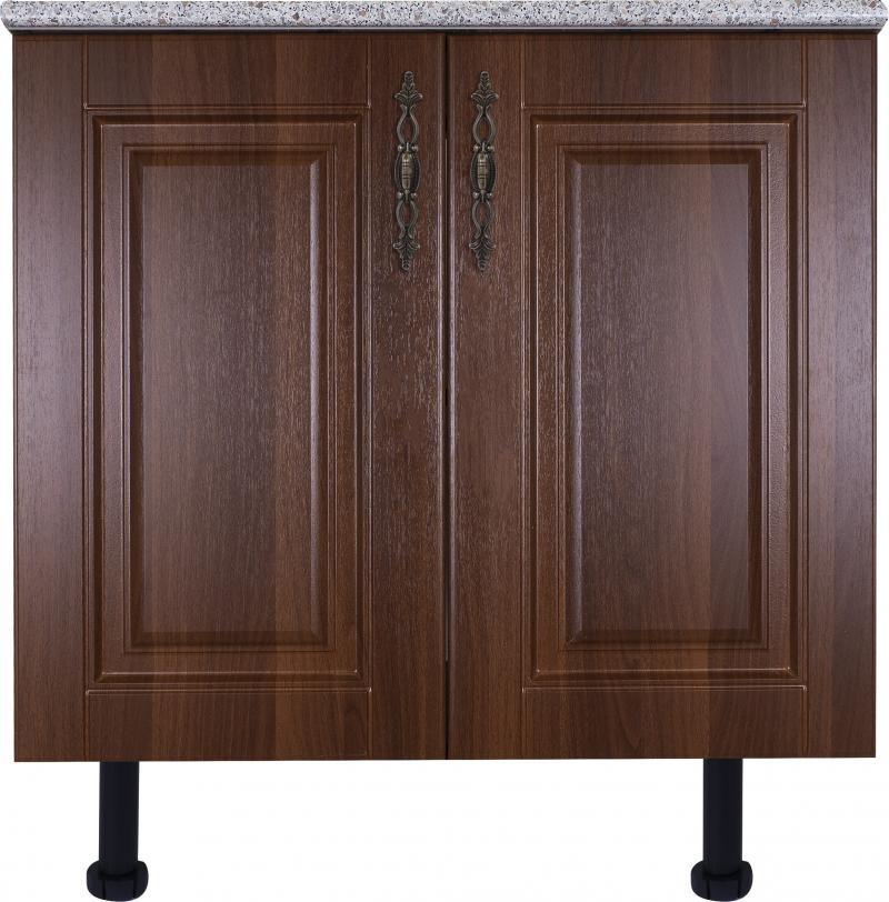 Шкаф напольный «Орех Ал» с фасадом 80 см, цвет орех